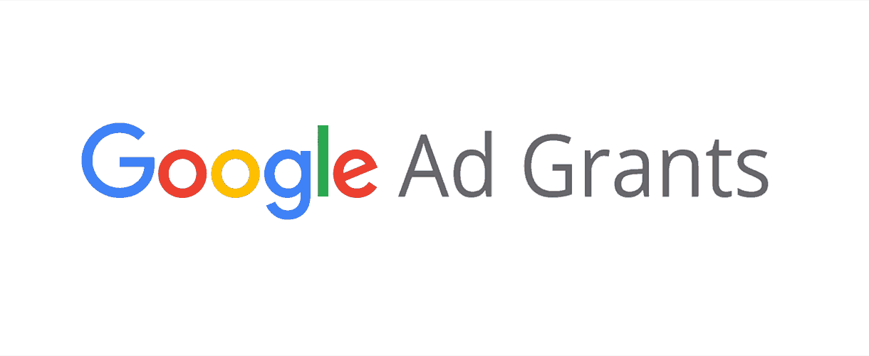 Google Ad Grants Header