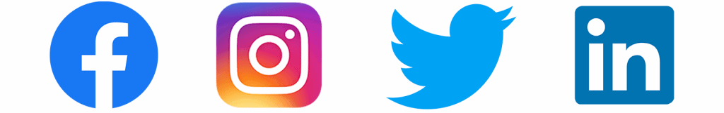 Social Logos Banner